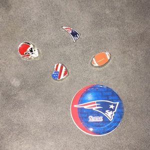 Jewelry - 🏈🇺🇸patriots plate for floating locket & charms